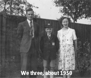 we three, about 1950