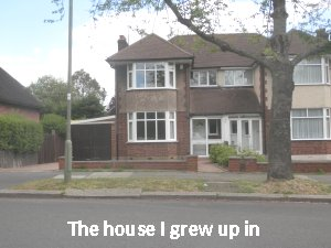 the house I grew up in
