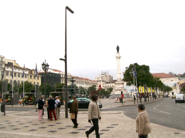 picture of Lisbon city square