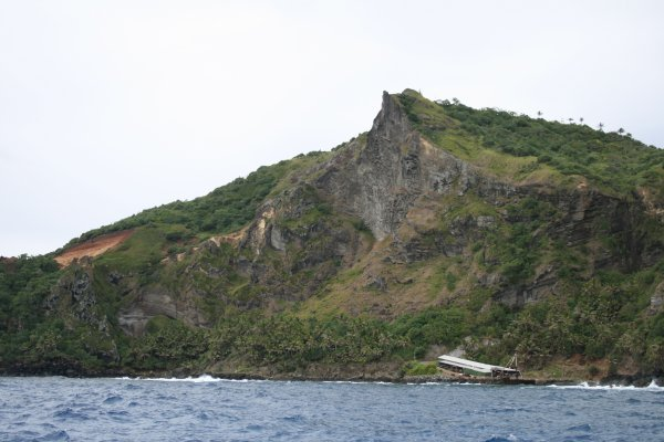 Pitcairn harbour