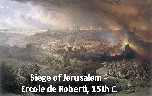 painting of the Siege of Jerusalem